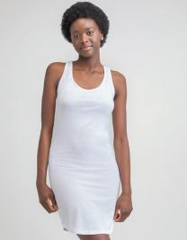 Curved Vest Dress